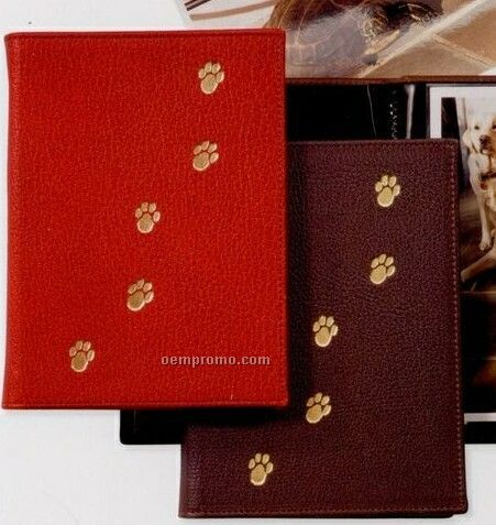 Pet Brag Book W/ Leather Cover