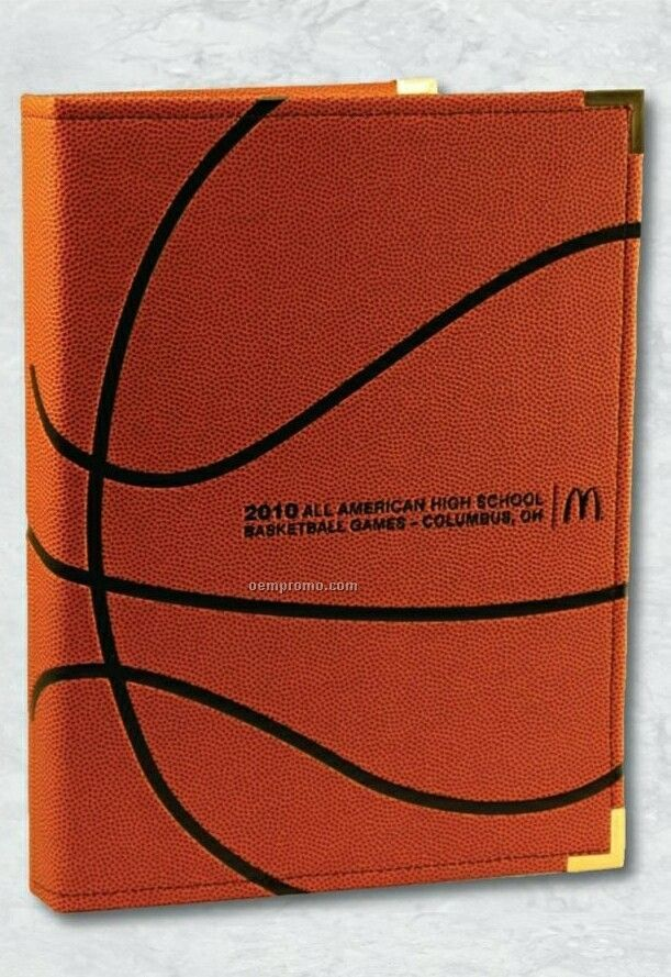 "Volleyball Card Holder 2"" Capacity Binder"