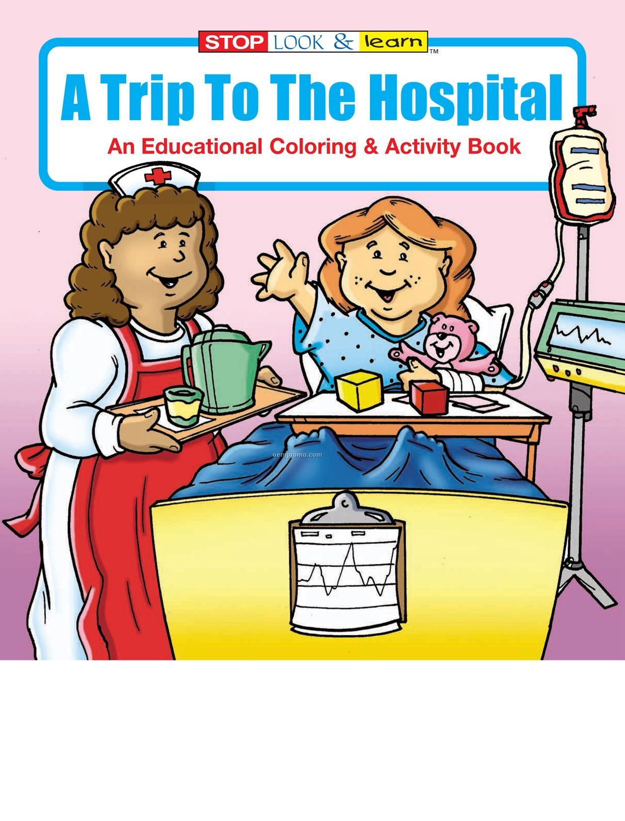A Trip To The Hospital Coloring Book Fun Pack