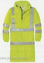 Cornerstone Ansi Class 3 Long Waterproof Raincoat