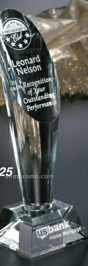 "Pristine Gallery Crystal Performer Award (10"")"
