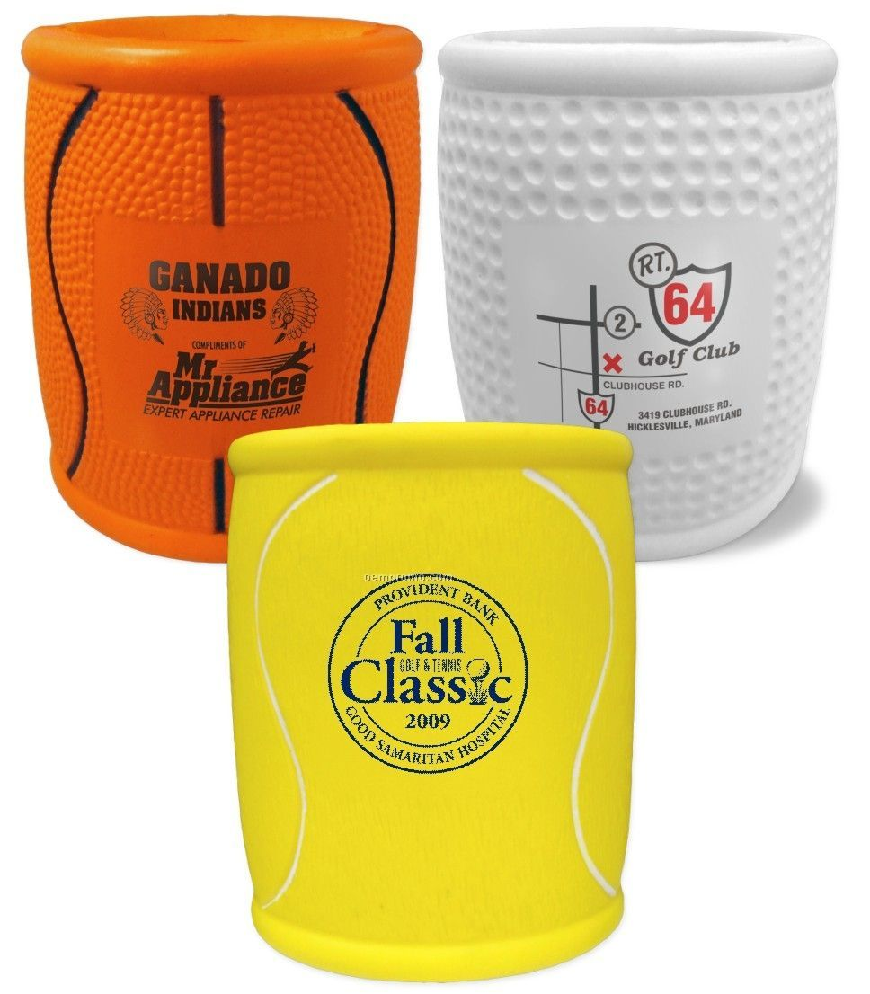 Tennis Ball Sports Beverage Cooler