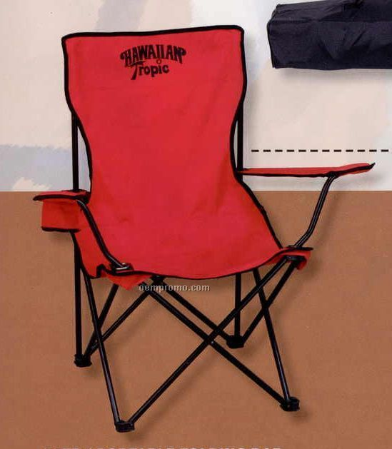 The Portable Tailgate Sport Chair With Carrying Case & Shoulder Strap