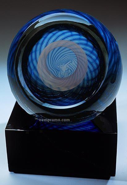 """Vortex Sculpture W/ Marble Base (3""""X4.5"""")"""