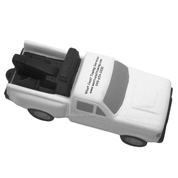 Tow Truck Squeeze Toy
