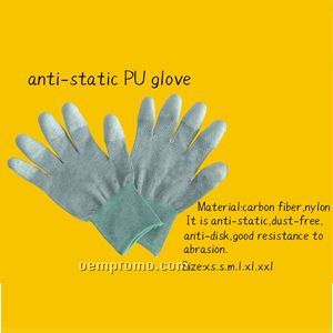 Anti-static Pu Glove