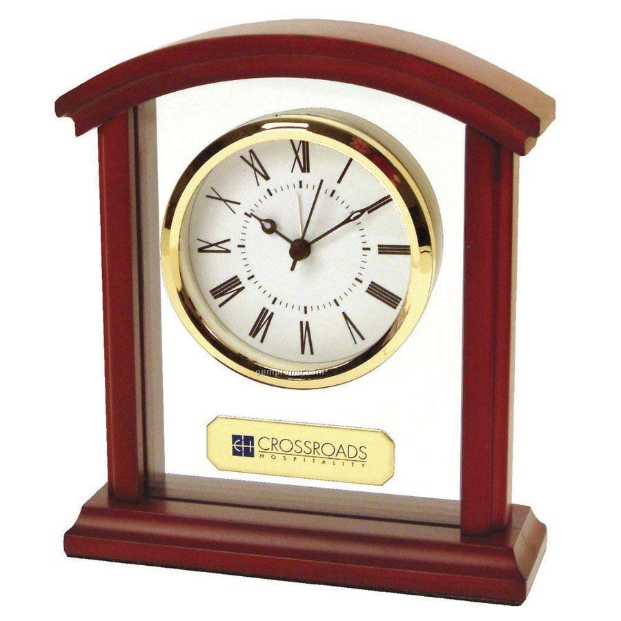Sculpted Arch Alarm Clock