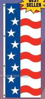 America Forever Interceptor Flag Drape (Star/Wavy Stripes)