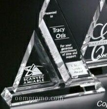 "Pristine Gallery Crystal Aztec Award (9"")"