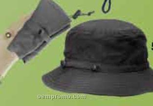 Roll Up Microfiber Bucket Hat