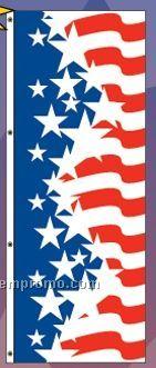 America Forever Interceptor Flag Drape (Star/Narrow Stripes)