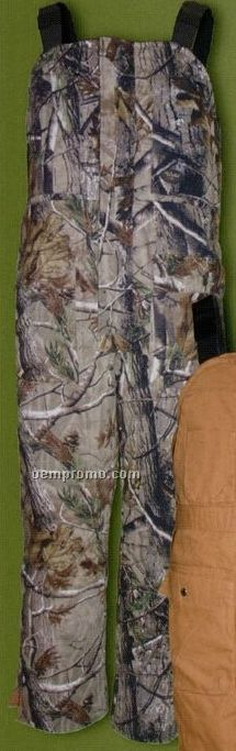 Walls Mid Weight Reversible Insulated Bib Overalls - Breakup Camouflage