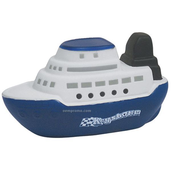 Cruise Boat Squeeze Toy