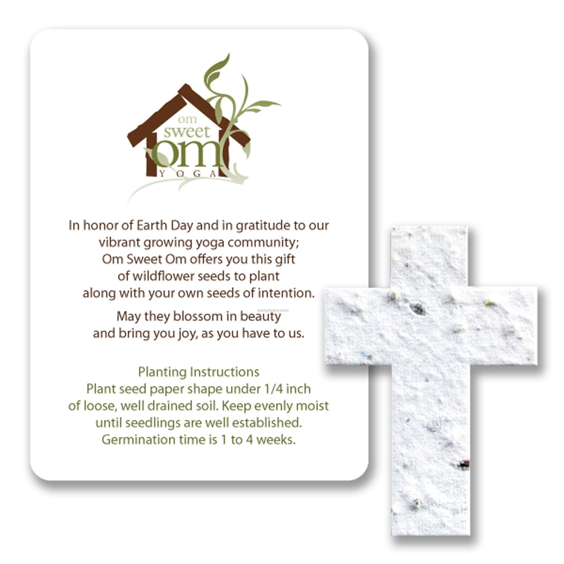 Mini Cross Seed Paper Gift Pack