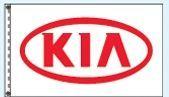 Stock Dealer Logo Flags - Kia