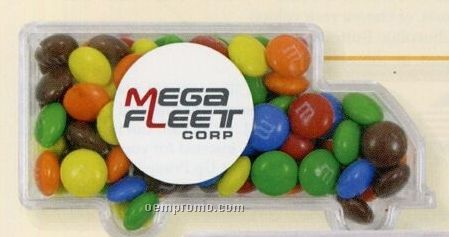 White Mints In Truck Candy Container