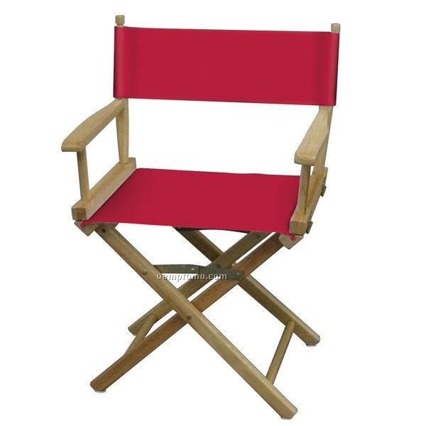 Blank Table Height Directors Chair