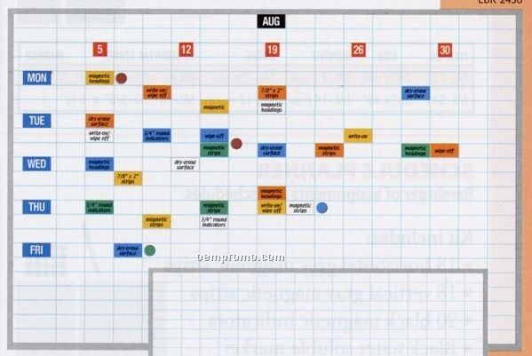 """Magnetic Planning Board (24""""X36"""")"""