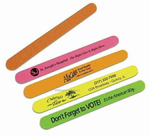 Neon Colored Emery Board Assortment