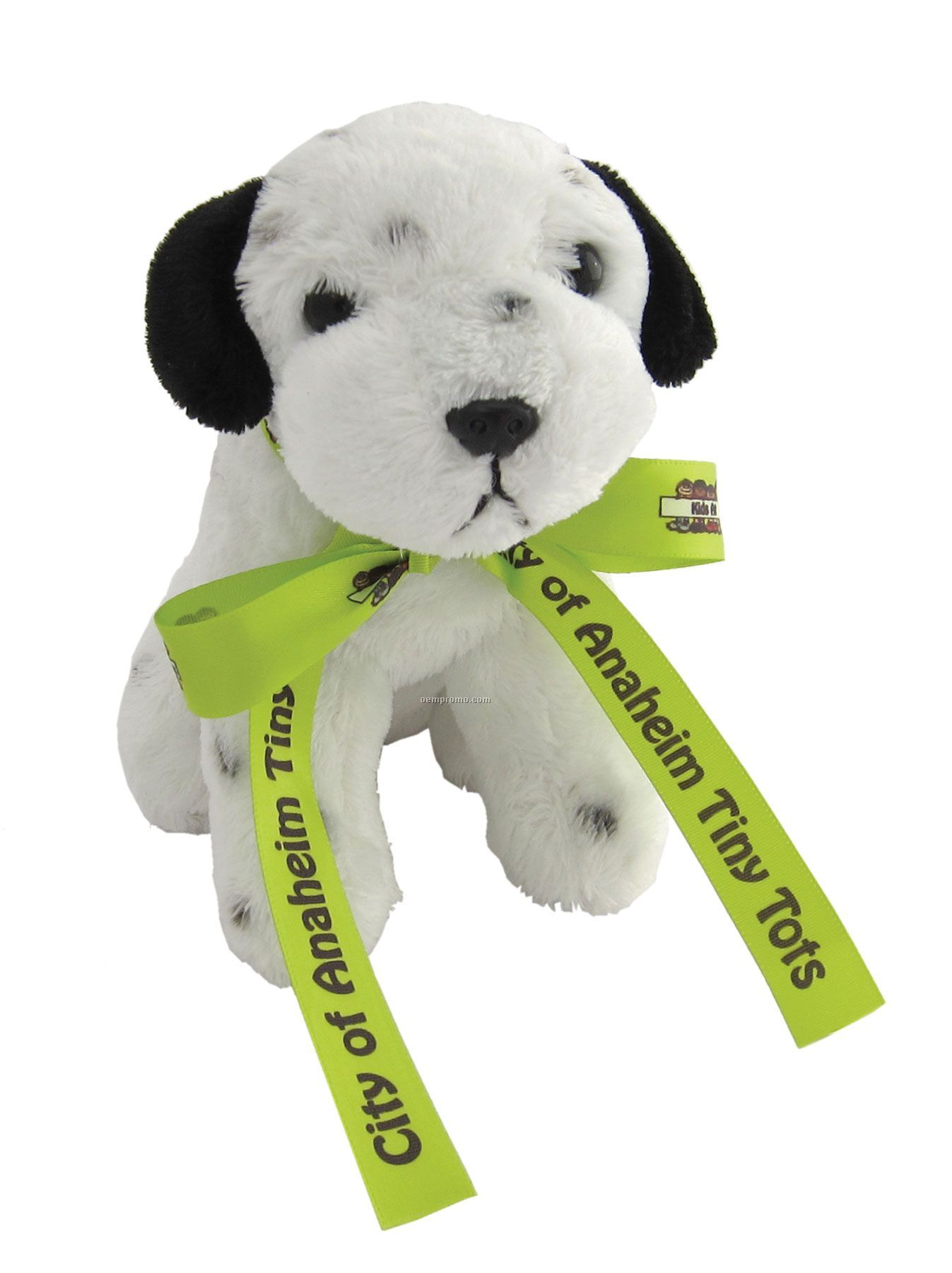 """Plush Puppy With Ribbon (6"""")"""