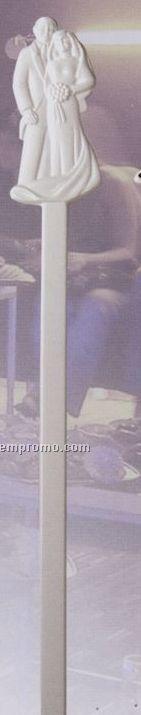 Bride & Groom Stirrer (Imprinted)