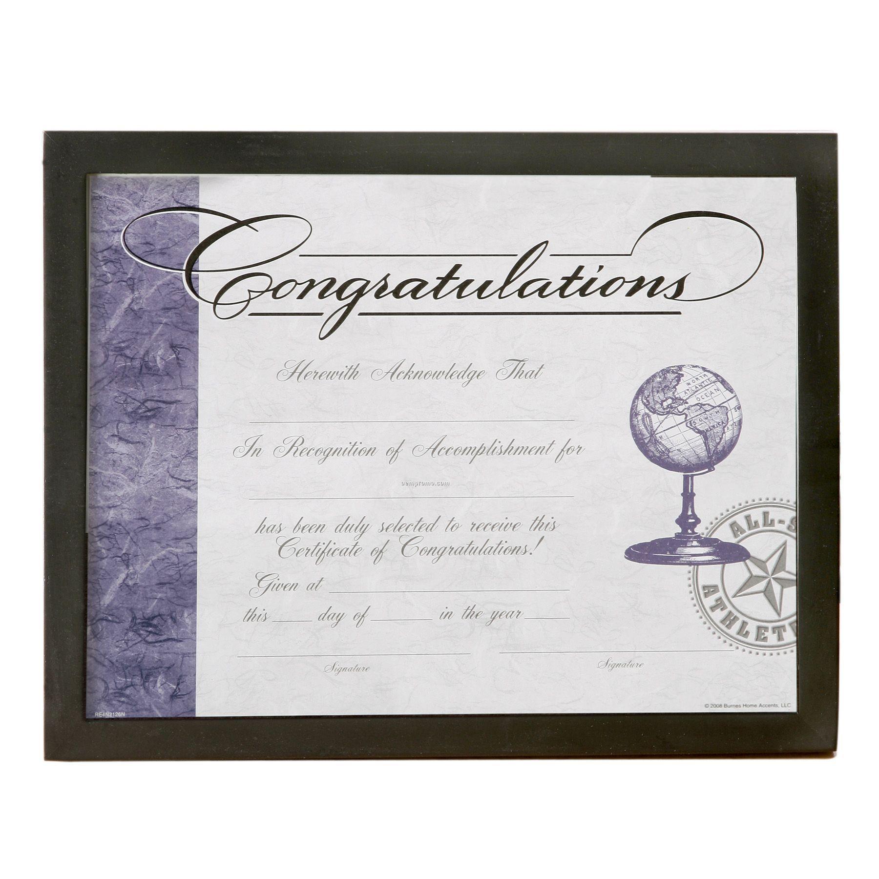 Collegiate black wood certificate framechina wholesale collegiate collegiate black wood certificate frame xflitez Choice Image
