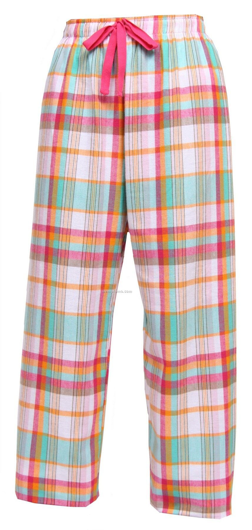 Youth Beach Fashion Flannel Pant With Tie Cord