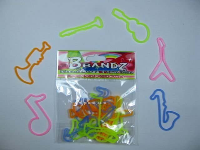12pcs Silly Band Set