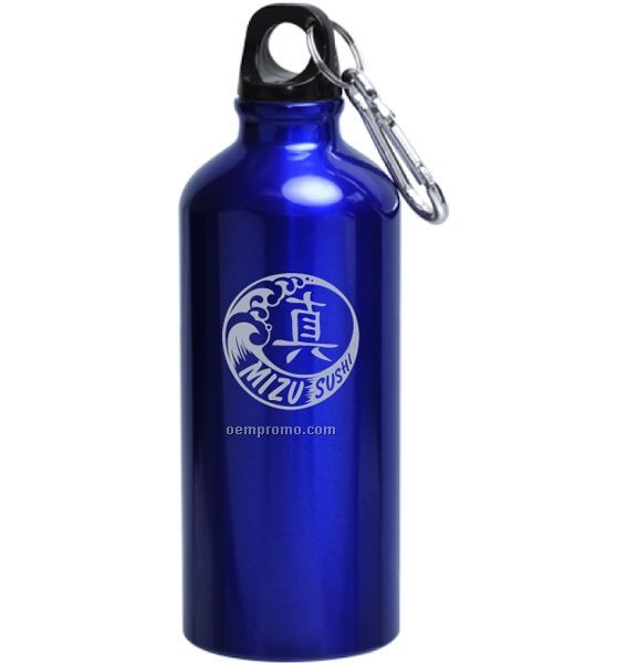 20 Oz. Scout Bpa Free Aluminum Sports Bottle With Carabiner Clip