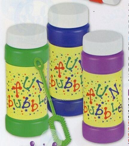 4 Oz. Stock Design Fun Bubbles