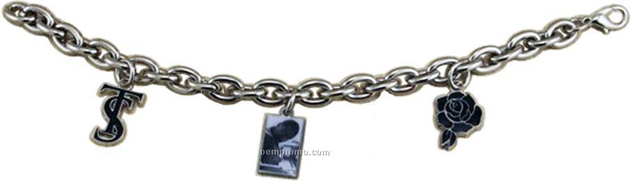 Custom Bracelet W/ 3 Charms