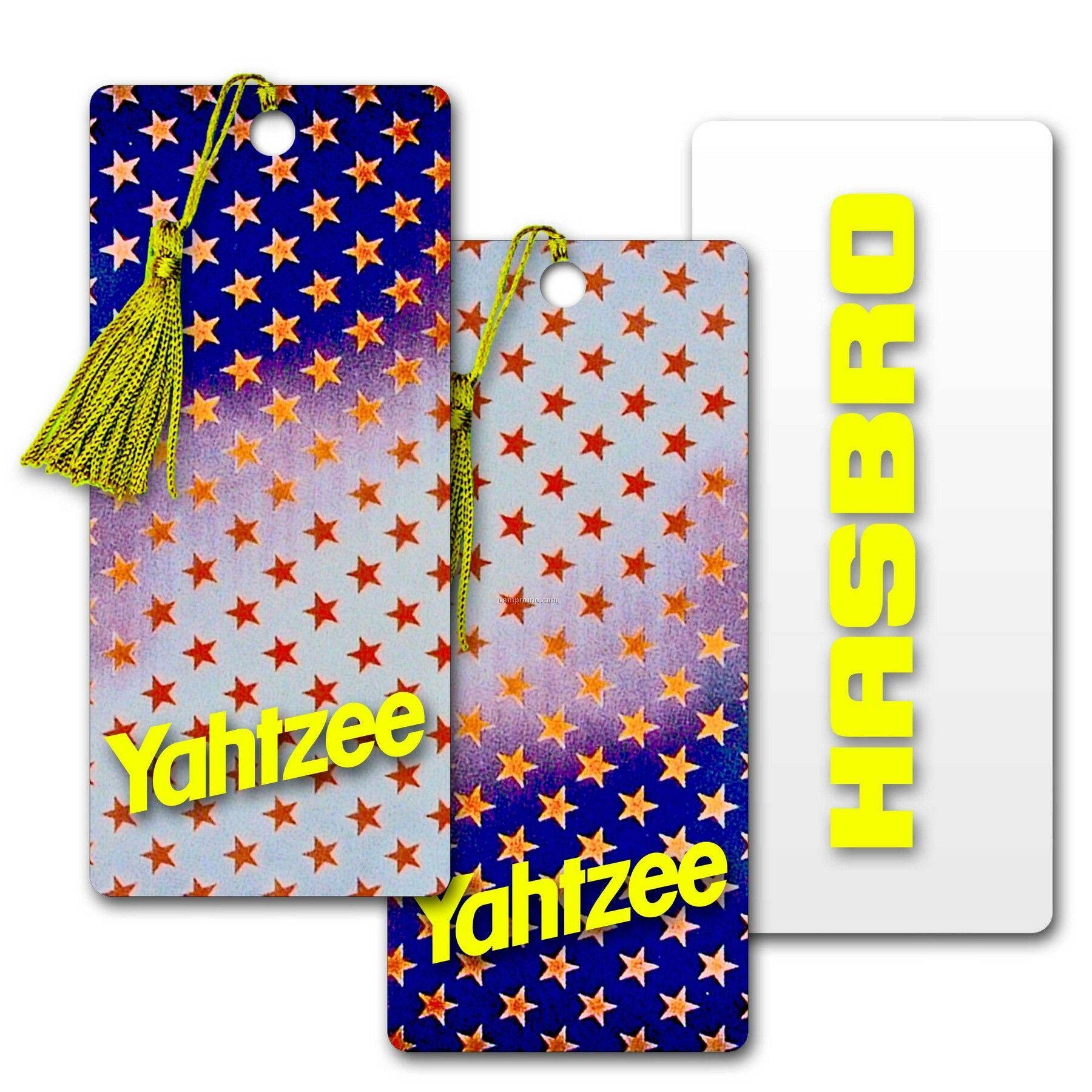 Pvc Bookmark W/3d Lenticular Image Of Animated Stars (Imprinted)