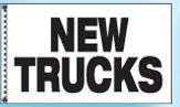 Stock Dealer Logo Flags - New Truck