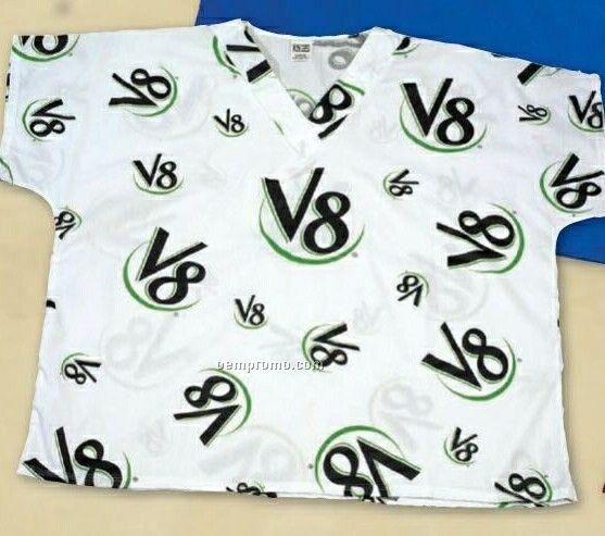 All Over Print Scrub Shirt (Youth S-xl) & (Adult Xs-2xl)