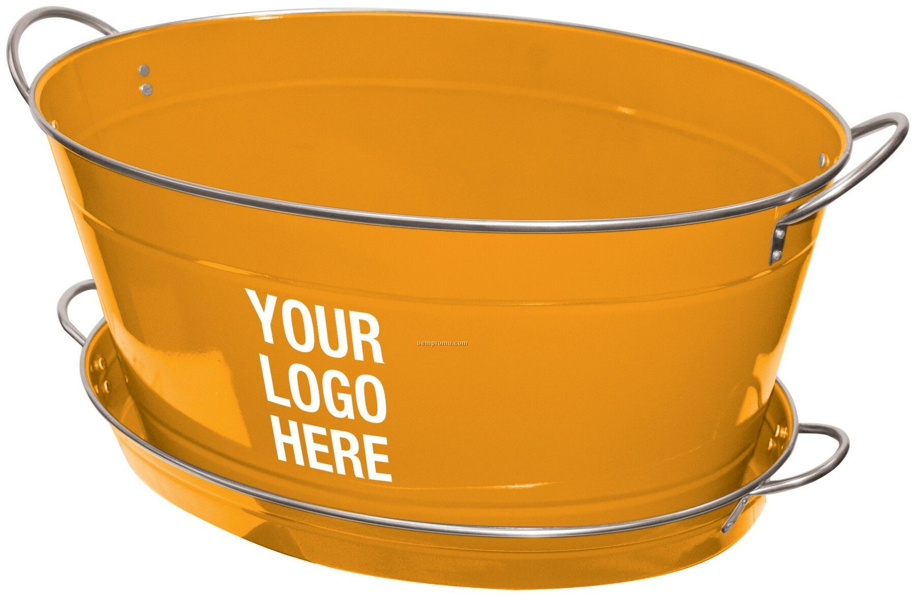 quick tuborangeside view enamel style outdoor tailgating tub metal vintage orangeovaltub oval orange beverage