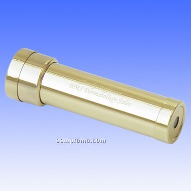 Brass Kaleidoscope W/ Rotating Chamber (Engraved)
