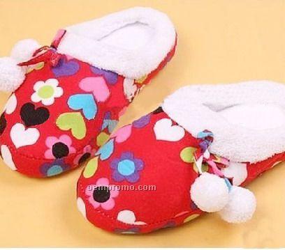 Colorful Cotton Slipper