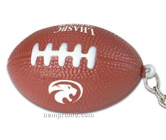 Football Squeeze Toy Key Chain