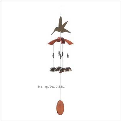 Hummingbird Cutout Chime