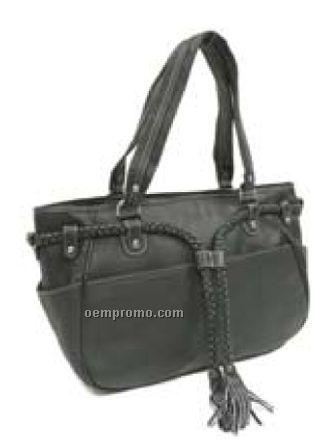 Braided Belt Shoulder Bag