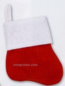"Red Felt Mini-stocking (5"")"