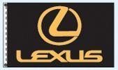 Stock Dealer Logo Flags - Lexus