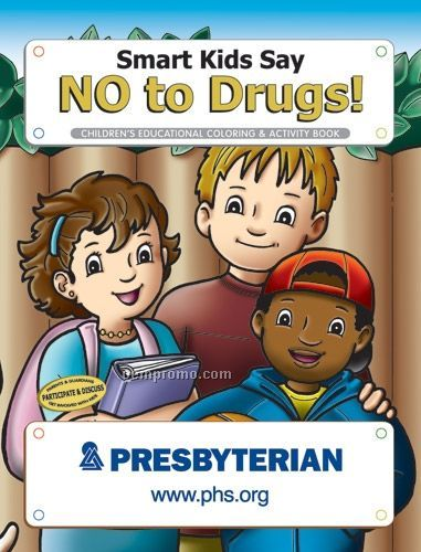 Coloring Book - Smart Kids Say No To Drugs