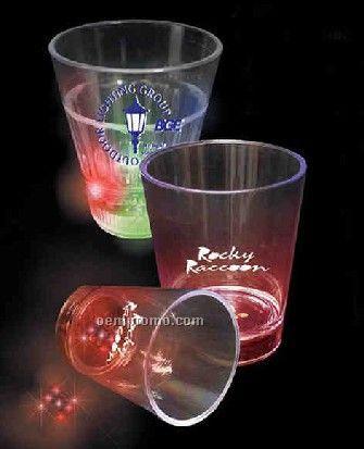 Flashing Dice Shot Glass