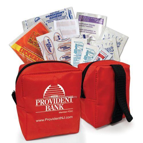 Outdoor First Aid Kit W/Nylon Bag