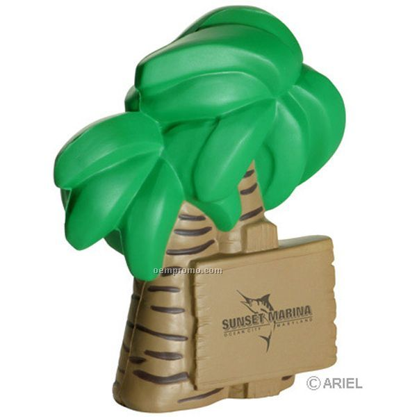 Palm Tree Squeeze Toy