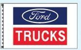 Stock Dealer Logo Flags - Ford Trucks