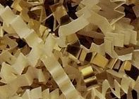 10# French Vanilla & Gold Paper & Metallic Blends Crinkle Cut Paper