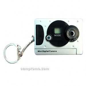 Mini Digital Camera Key Ring