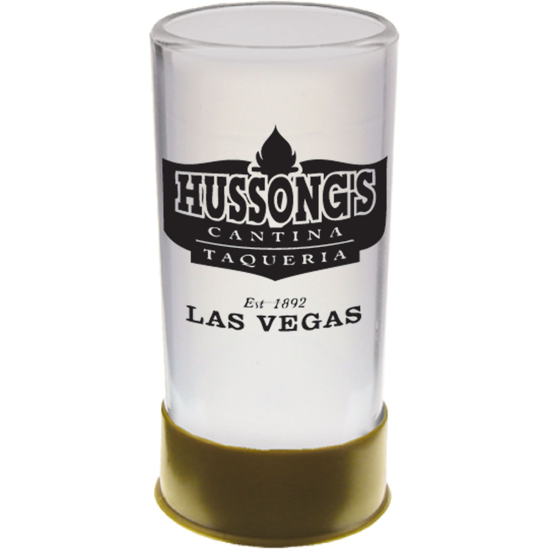 1.5 Oz. Shot Gun Shell Shooter Glass